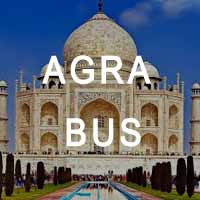 same day agra tour bus
