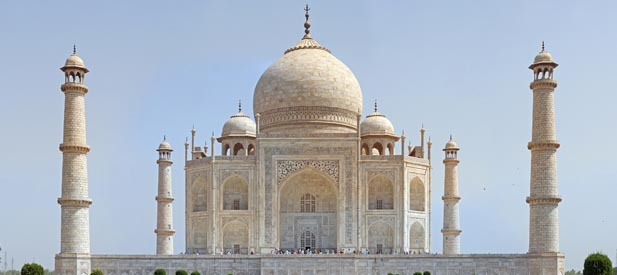 Visit Taj Mahal by Car