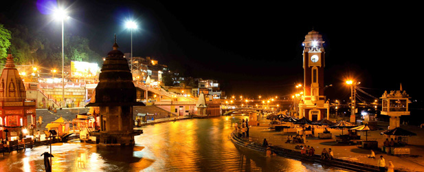 Visit Hari ki Pauri in Haridwar (Night View)
