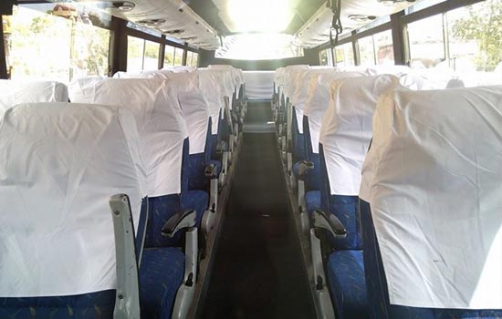 seats in bus
