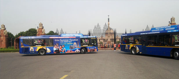 19 Delhi Sightseeing places by HOHO Bus