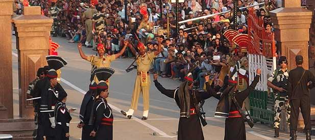 Waga Border, Indo-Pak Ceremony