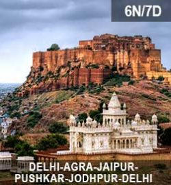 6N-7D Golden-Triangle-with-Pushkar-&-Jodhpur