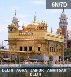 DELHI-AGRA-JAIPUR-AMRITSAR-TOUR