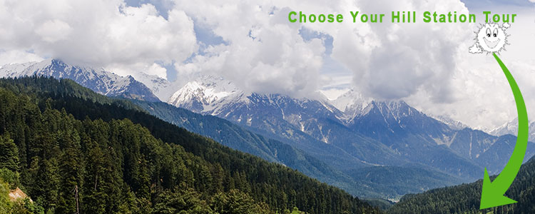Hill Station Tour package from delhi