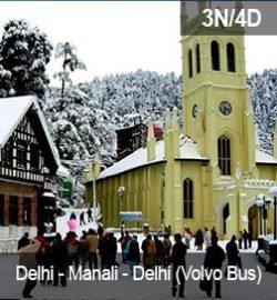 Delhi-manali-delhi-volvo-bus