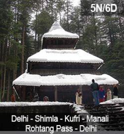 delhi-shimla-kufri-manali-rohtang-pass-delhi