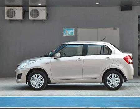 4 Seats Swift Desire Car