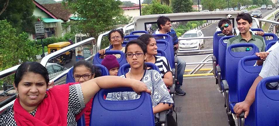 Goa Sightseeing Tourists
